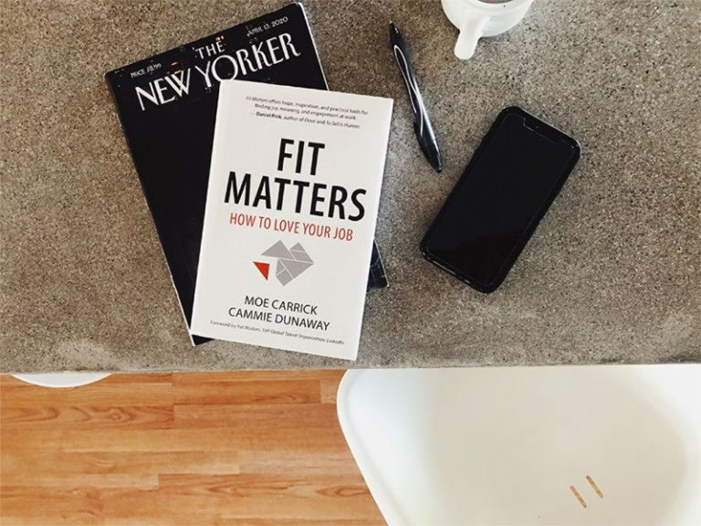 Fit Matters - How to love your job